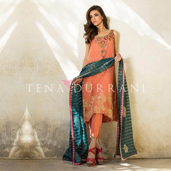 Tena Durrani is a talented and well known Pakistani fashion designer. Recently, Tena Durrani Party Wear Collection 2016 For Women has been launched. Have a look.The post Tena Durrani Party Wear Collection 2016 For Women appeared first on Style.Pk.     #india_pakistan