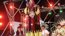Zarsanga, the nomad queen of Pashtun folklore, performs on the first night of the Music Mela White Star ISLAMABAD: The third annual Music Mela opened on Thursday at the Pakistan National Council of Arts, with some 400 people showing up to he. #Pakistan