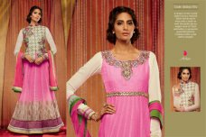 Indian Pakistani Bollywood Designer Anarkali Salwar Kameez EID Suits ETHNIC EHS #pink | ebay