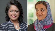 Ameenah Gurib-Fakim (L) and Sheikha Lubna Al Qasimi (R) The Bangladeshi PM, a Saudi billionaire and the President of Mauritius are just a few Muslim women mentioned in Forbes 13th annual Worlds 100 Most Powerful Women and we couldnt be more pro. #Forbes