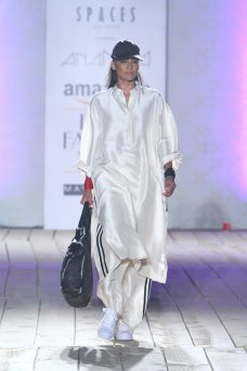 Theres something a lot of Indian designers seem to be struggling with latelyan attempt to reconcile their Indian selves with their global ones. #IndiaFashionWeek #AnamikaKhanna #Fashion #Summer #Amazon.com