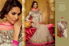 Indian Pakistani Bollywood Designer Anarkali Salwar Kameez EID Suits ETHNIC EHS #taupe | ebay