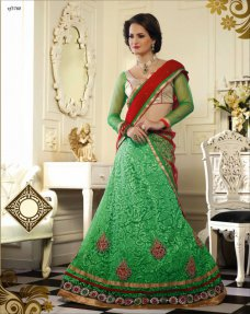 Lehenga Choli Indian Designer Fashion Trend Beautiful Bridal Party Wear Lehengas #green | ebay