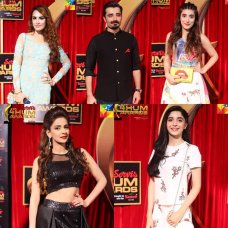 the 4th Hum Tv awards are sponsored by Servis. The 4th Hum Awards ceremony, presented by the Hum Television Network and Entertainment Channel (HTNEC), sponsored by Servis and honoring the best in fashion, music and Hum Television Dramas of 2015, had taken place on April 23, 2016 at the Expo Centre in Karachi, Sindh, beginning […]The post Hum Tv Awards Exclusive pictures and happenings appeared first on Style.Pk.     #india_pakistan