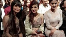 ARY Film Awards was held in Dubai on 16th April, 16. The big night was attended by many famous stars of the showbiz. The Pakistani actresses graced ARY Film Awards 2016 wearing designer outfits and carrying glamorous looks. Let's take a look at Pakistani actresses at the red carpet of ARY Film Awards 2016. Aamina […]The post Style Check: Who Killed It At The ARY Film Awards 2016 appeared first on Style.Pk.     #india_pakistan