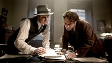 The proceedings often feel more like a play than a movie - Photo courtesy: Marc Brenner/Roadside Attractions Making movies about writers is treacherous business: theres next to nothing cinematic about someone tapping away on a keyboard, then stari. #ThomasWolfe