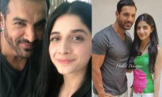 After her debut Bollywood movie 'Sanam Teri Qasam' with Harshvardhan Rane, Mawra Hocane is getting many film offers from the Bollywood industry. Just a few days back, the Pakistani actress met Rocky Handsome John Abraham in Mumbai. Both famous stars of the two different countriesheld a meeting with each other and shared some lovely selfies […]The post Latest Clicks Of Mawra Hocane With John Abraham appeared first on Style.Pk.     #india_pakistan