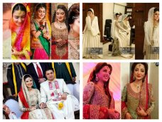 Now, lots of Pakistani celebrities are getting married and they look so stunning and pretty on their wedding days! We cannot say that this celebrity is more looking amazing on her wedding day as compared to this celebrity; all of them are looking ext. 