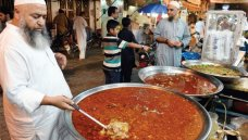 Kartarpura food street's variety ranges from sri paye to choley and lassi to cold kheer - Photo by Tanveer Shahzad RAWALPINDI: Downtown Rawalpindi comes to life from iftar through to sehri, especially markets and bazaars where traditional foods are p. #Food