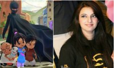 Komal was the sole female animator in the Burka Avenger animation team The fourth Thursday of every April is commemorated as Girls in Information and Communication Technologies (ICT) day around the world. #Pakistan