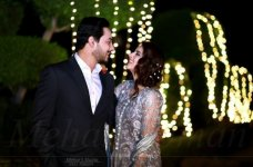 Adorable Clicks of Beautiful Couple Fatima Effendi and Kanwar Arsalan in a Recent Family Wedding... #Wedding