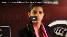 Azad is an upcoming Pakistani movie produced by Rehan Sheikh and co-produced by Hassan Naeem. It's a comedy film and the cast includes Nimra Bucha, Sanam Saeed, Salman Shahid, Sabreen Hasbani, Rehan Sheikh, Zahid Ahmed, Sajjad Kishwar, Imran Abbas, Angeline Malik and Schumaila Hussain. The film shooting is about to end and the staff is […]The post Pakistani Movie Azad Ft. Sanam Saeed: Trailer & BTS Shots appeared first on Style.Pk.     #india_pakistan