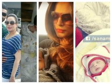 In 2015, till now many female Pakistani celebrities become mothers. We are sharing pictures of Pakistani celebrities and their newborn babies.The post Pakistani Celebrities And Their Newborn Babies appeared first on . #burgundy