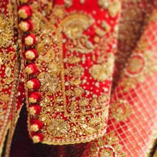 Details @farazmanan #bridal #traditional #instabride #weddings #FarazManan #ig #bridals #lahore #dubai #mydubai #love #hautecouture #paris #intricate #royal #coral #gold #red #classic